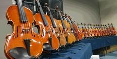 写真:バイオリンフェア終了!! 富士店