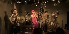 写真:Black Bottom Brass Band いきなりブラスツアーin静岡  富士店