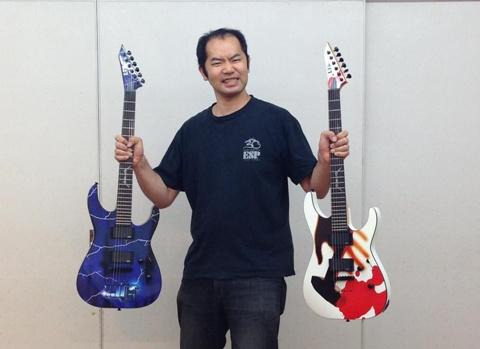 メタリカ30周年ギター2本.jpg