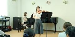 写真:バイオリン・チェロ教室発表会│藤枝店