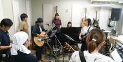 写真:バンド発表会:パープルJAM2016合同練習2回目!! 藤枝店