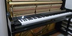 写真:ピアノ解体SHOW目前!ひとり解体中|藤枝店