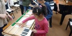 写真:ピアノ解体SHOW!レポートvol.2 藤枝店