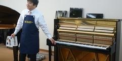 写真:ピアノ解体SHOW!レポートvol.1 藤枝店