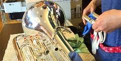 写真:管楽器の修理・メンテナンスは当店へ。店頭リペアデイのご案内|藤枝店