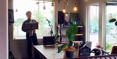 写真:【動画有】サックス演奏♪LivingD 第一建設様のイベントにて 藤枝店