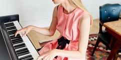 写真:おうちのキーボードでピアノレッスンを気軽にスタート!|藤枝店