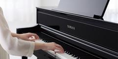 写真:【静岡市 電子ピアノ】お子様のピアノ練習にオススメなヤマハCLP675が現品特価になっています!│本店
