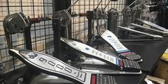 写真:静岡市トップレベルの品揃え!!ドラムペダル大量展示中|本店