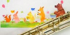 写真:管楽器にタッチ&トライ♪|沼津店
