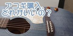 写真:楽器、どうやって選ぶの?アコギ編|沼津店