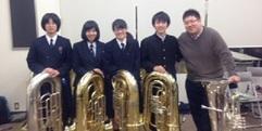 写真:次田心平先生テューバ・クリニック終了! SBS通り店
