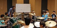 写真:【夏休み セミナー】小・中学生のための夏休みドラム集中セミナーレポート!|おとサロンSBS通り