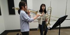 写真:トロンボーン講師♪榑林万姫先生のレッスンにお邪魔しました~|SBS通り店